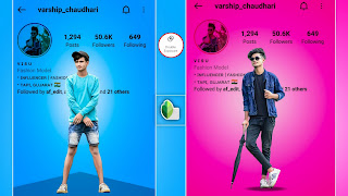 SNAPSEED INSTA PROFILE LOVER PHOTO EDITING TUTORIAL|| DOWNLOAD PNG IMAGE