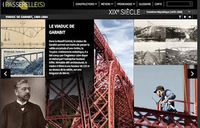 "Exposition ""Passerelles"" : planche Garabit"