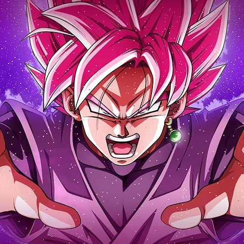 Goku Black Super Saiyan Rose Wallpaper Engine Download
