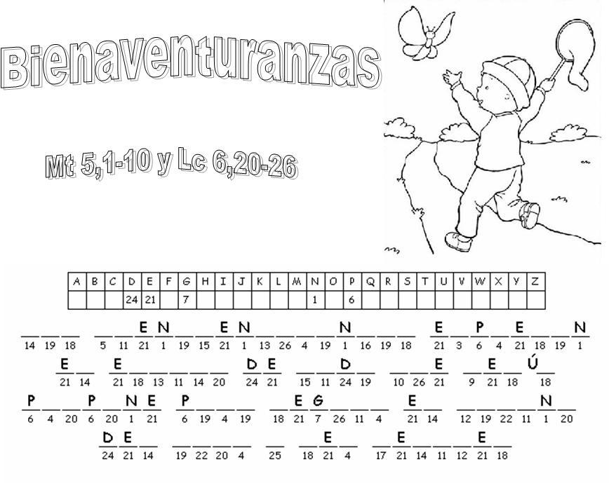 Clasedereli Niños Del Mundo: Las Ocho Bienaventuranzas