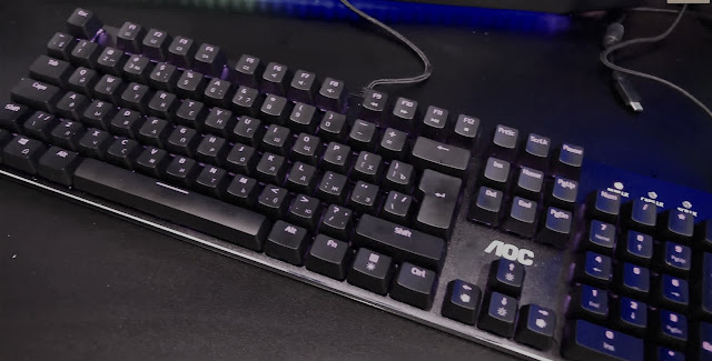 AOC GK500 Gaming Keyboard