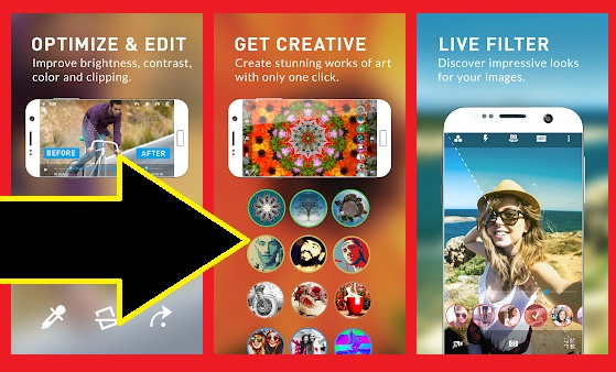 افضل تطبيقات للتصوير الاحترافي لهواتف الاندرويد - برامج التصوير للاندرويد
