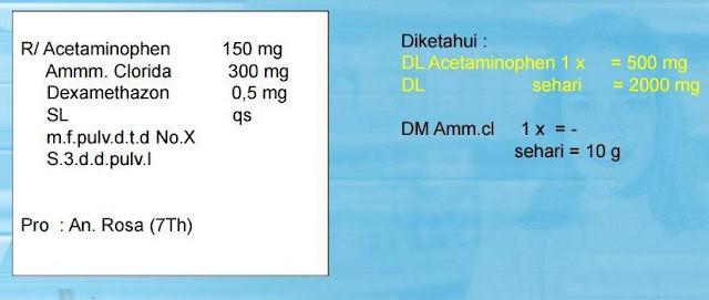 Cara Menghitung Dosis Obat Dengan Cepat Dan Tepat