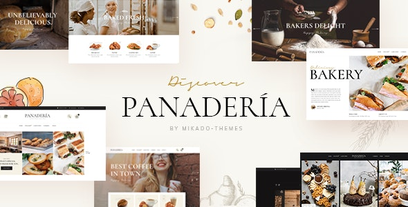 Premium Bakery and Pastry Shop Theme