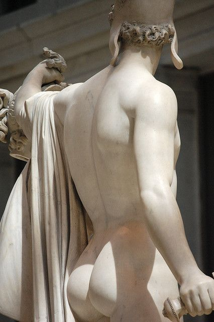 Greek male nude statues can