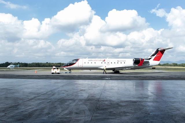 Las innovaciones de Air Century presentadas en su página web
