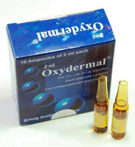Oxydermal Blue Pelancar Oxigen dalam Darah