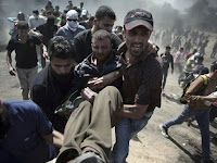 Tentara Israel Bentrok di Jalur Gaza, Sedikitnya 50 Warga Palestina Terluka