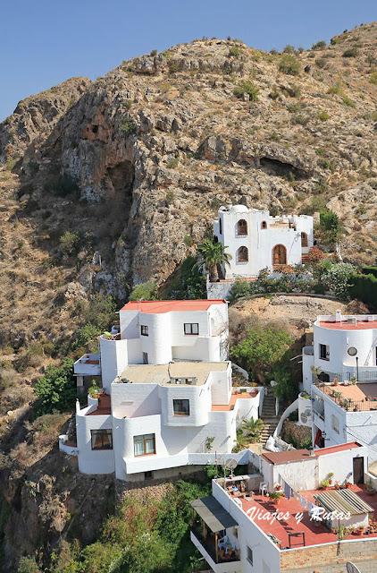 Vistas desde la plaza del Castillo de Mojácar