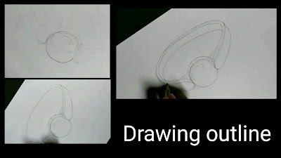 How to draw pearl ring, step by step tutorial how to draw outline of ring,step by step drawing of ring, 3d drawing of ring,easy drawing for kids, drawing for class 8,easy way of drawing ring,beginners guide,online drawing courses