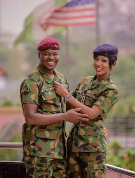 Beautiful Pre-Wedding Photos Of A Military Couple