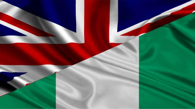 Uk & Nigeria Flag