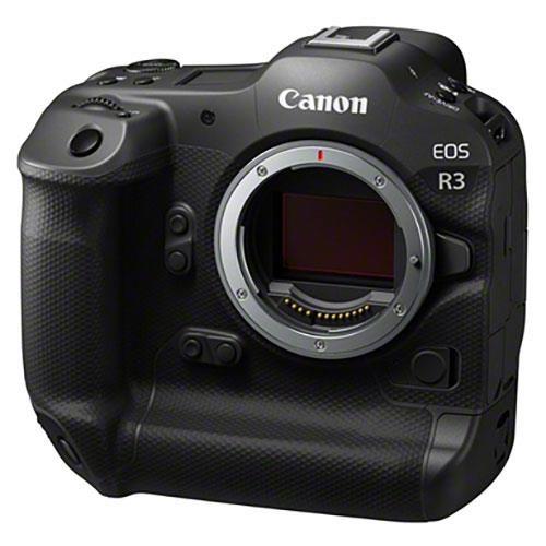Canon EOS R3, вид спереди