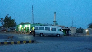 A journey to kund malir at night