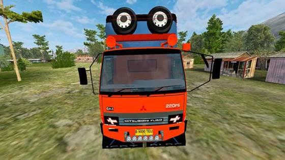 mod truck fuso sumatera