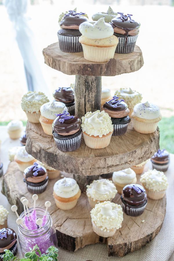 rustic+wedding+shabby+chic+summer+spring+burlap+moss+green+purple+violet+lavender+mint+emerald+outdoor+horse+cowboy+centerpiece+cake+table+dessert+candy+buffet+1326+studios+6 - Rustic Springtime