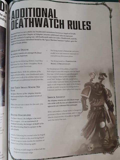 Deathwatch White Dwarf