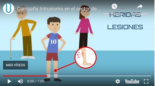 Campaña Intrusismo en el sector de la Podología by ICOPCV