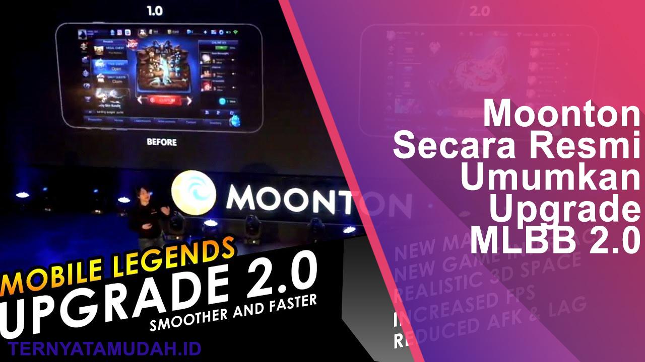 Moonton Secara Resmi Umumkan Upgrade Mobile Legends Bang Bang 2.0