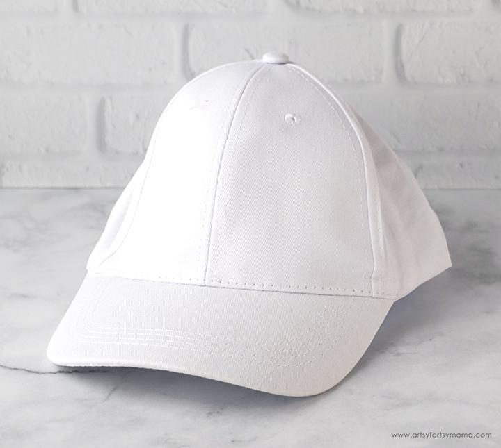 Blank White Hat
