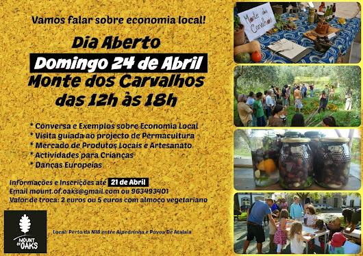 Dia Aberto / Open Day: Economia Local