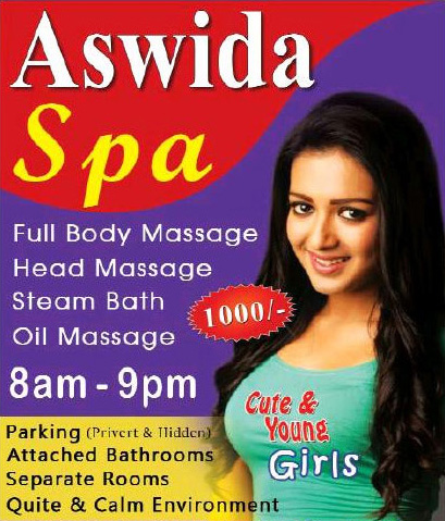 Aswida Spa | Massage center in Ja-Ela