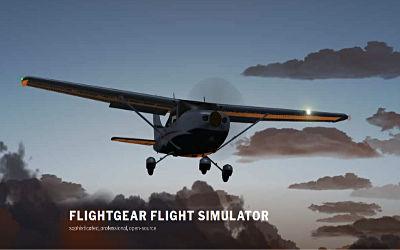 FlightGear - Jeu de Simulation de Vol sur PC
