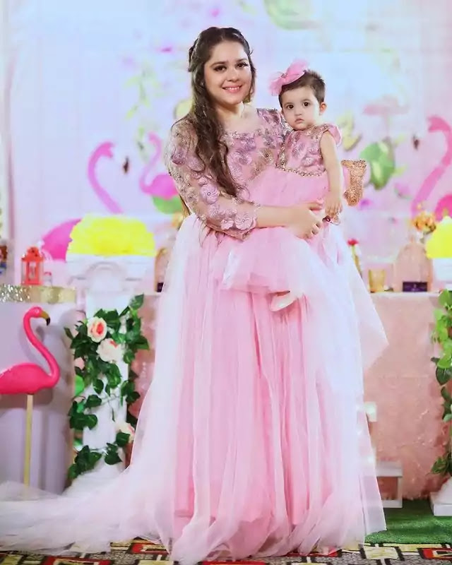 Beautiful Pictures of Sarah Razi Daughter Mirha 1st Birthday Party