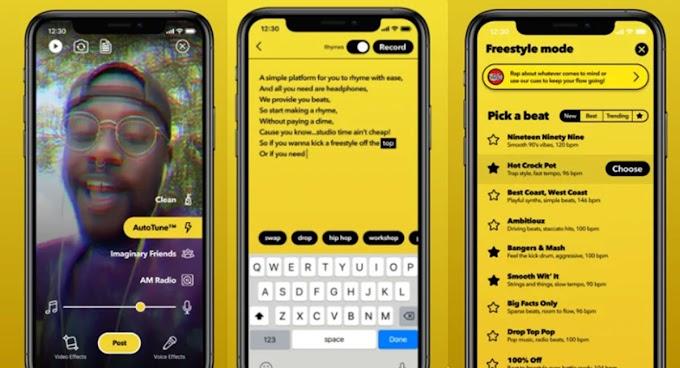 Facebook launches tiktok-style rapper app