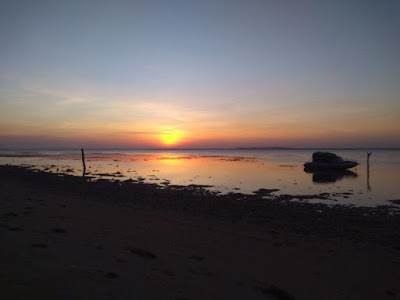 pantai sunset laendra