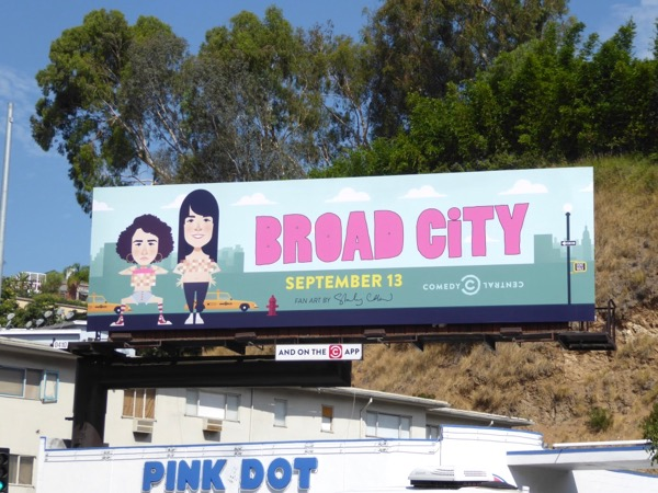 Broad City season 4 billboard