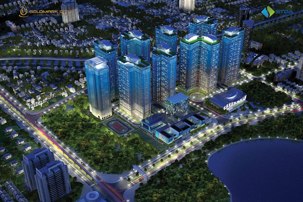 Tổng thể dự án TNR Goldmark City