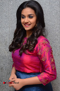 Actress Keerthi Suresh Stills at Remo Success Meet  0054.JPG