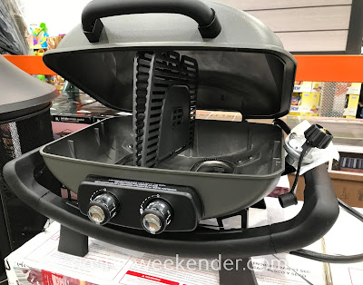 Sear some steaks or grill up some burgers and hot dogs with the Nexgrill Fortress Cast Aluminum Table Top Gas Grill