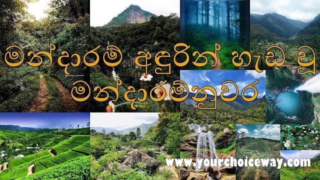 මන්දාරම් අඳුරින් හැඩ වූ - මන්දාරම්නුවර 🥦🌳(Mandaram Nuwara) - Your Choice Way