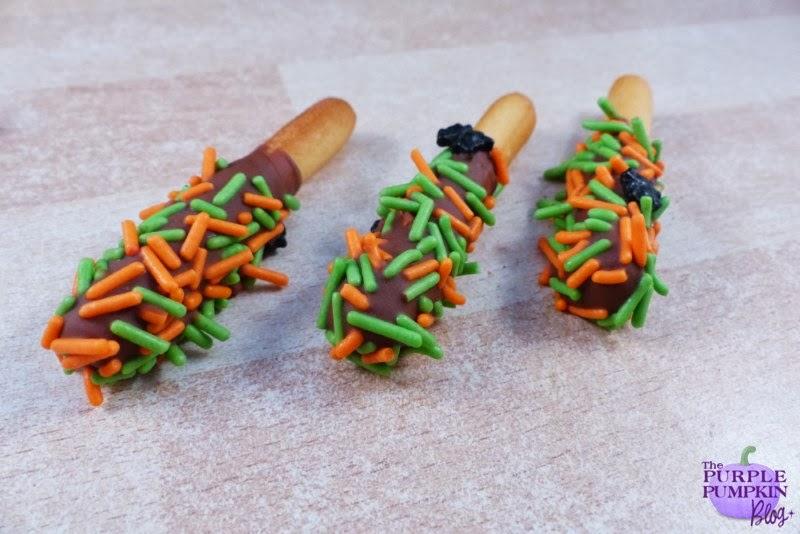#Halloween Sprinkle Choc Dippers #CraftyOctober