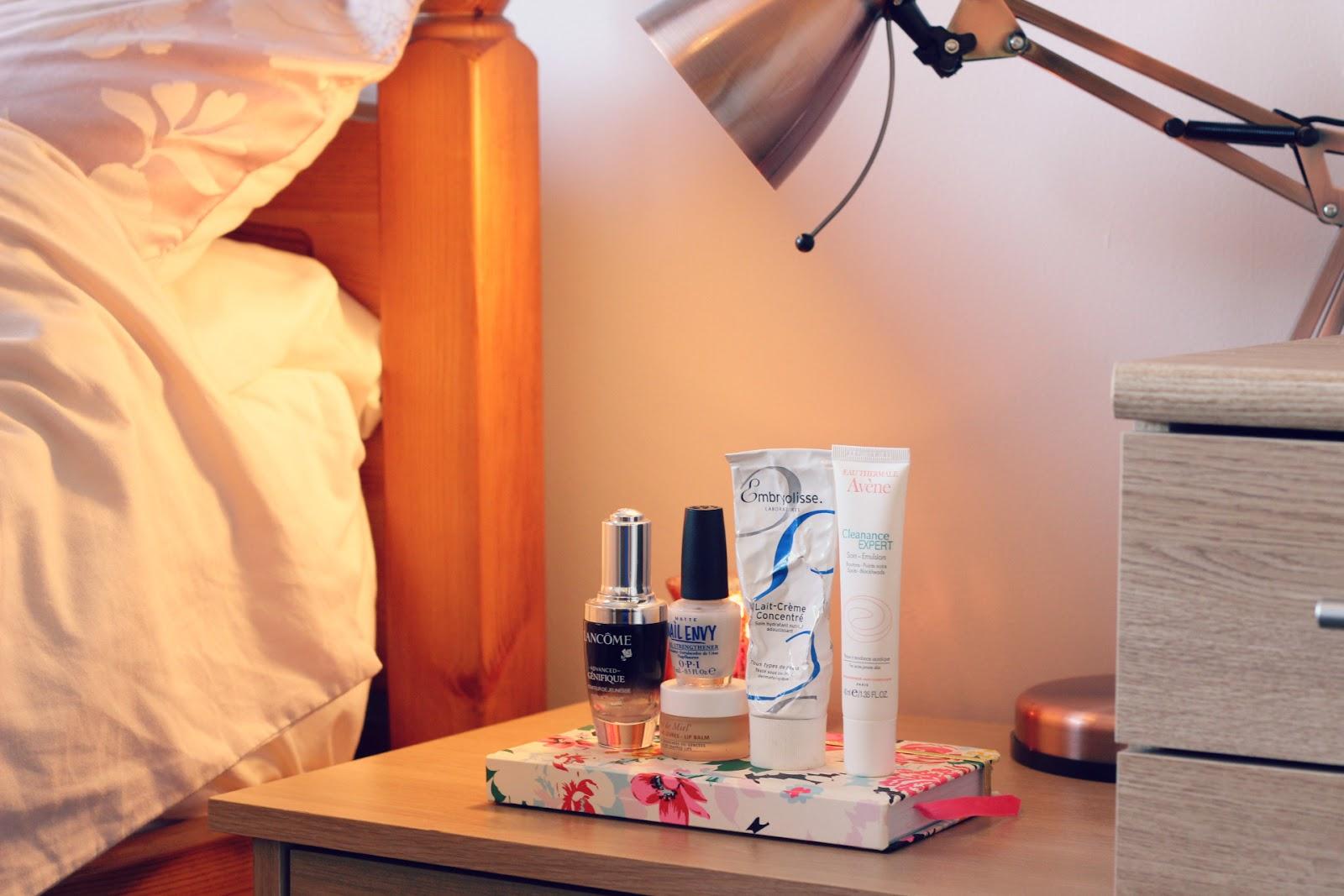 5 Bedside Beauty Staples