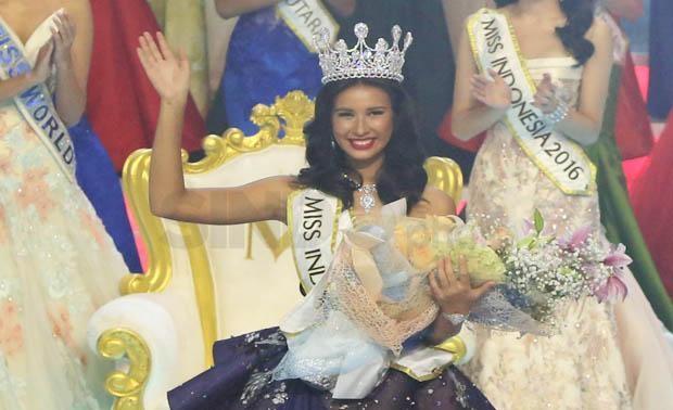Pemprov NTB : Achintiya Holte Nilsen (Miss Indonesia 2017) Bukan Wakil NTB