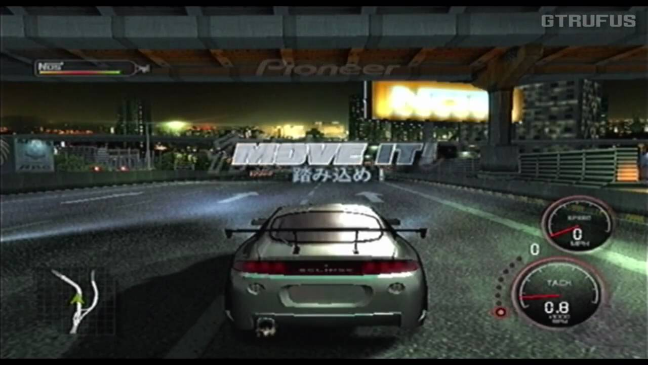 The Fast and the Furious Tokyo Drift PS2 PSP