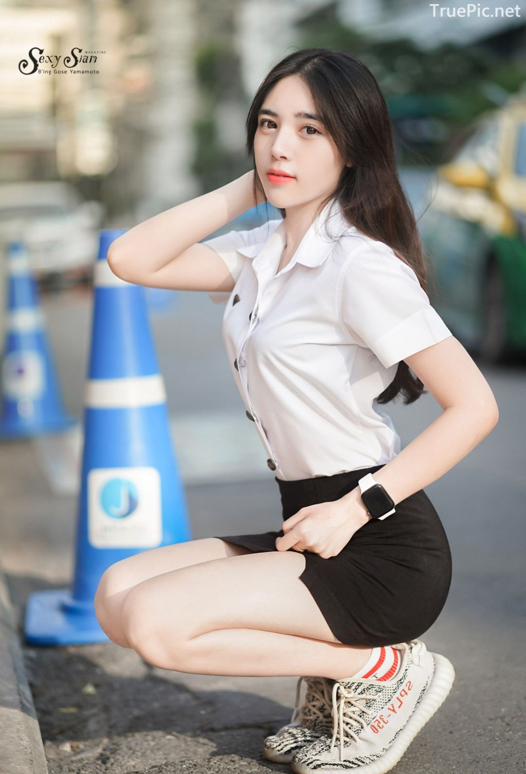 Thailand beautiful girl - Chonticha Chalimewong - Thai Girl Student uniform - TruePic.net - Picture 6