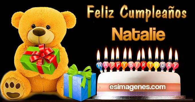 Feliz Cumpleaños Natalie