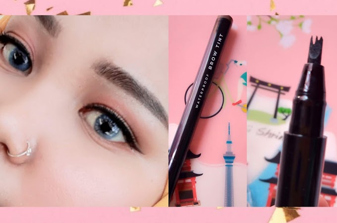 Review Mizzu Brow Tint Grey & Perfect Wear Eyeliner | HALOANISA