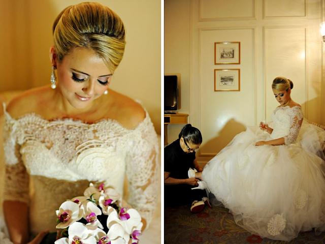 casamento Thereza CHAMMAS vestido de noiva