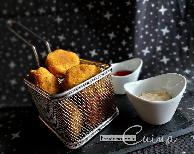 Nuggets, Pollastre, Thermomix, Cuina_casolana, Pollo, L'Essència-de-la-Cuina, Blog-de-cuina-de-la-Sònia