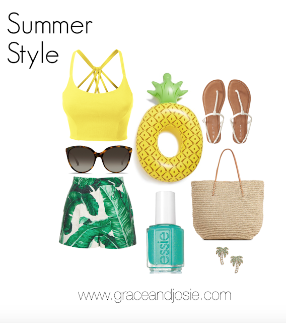 Pineapples, palm trees and fashion