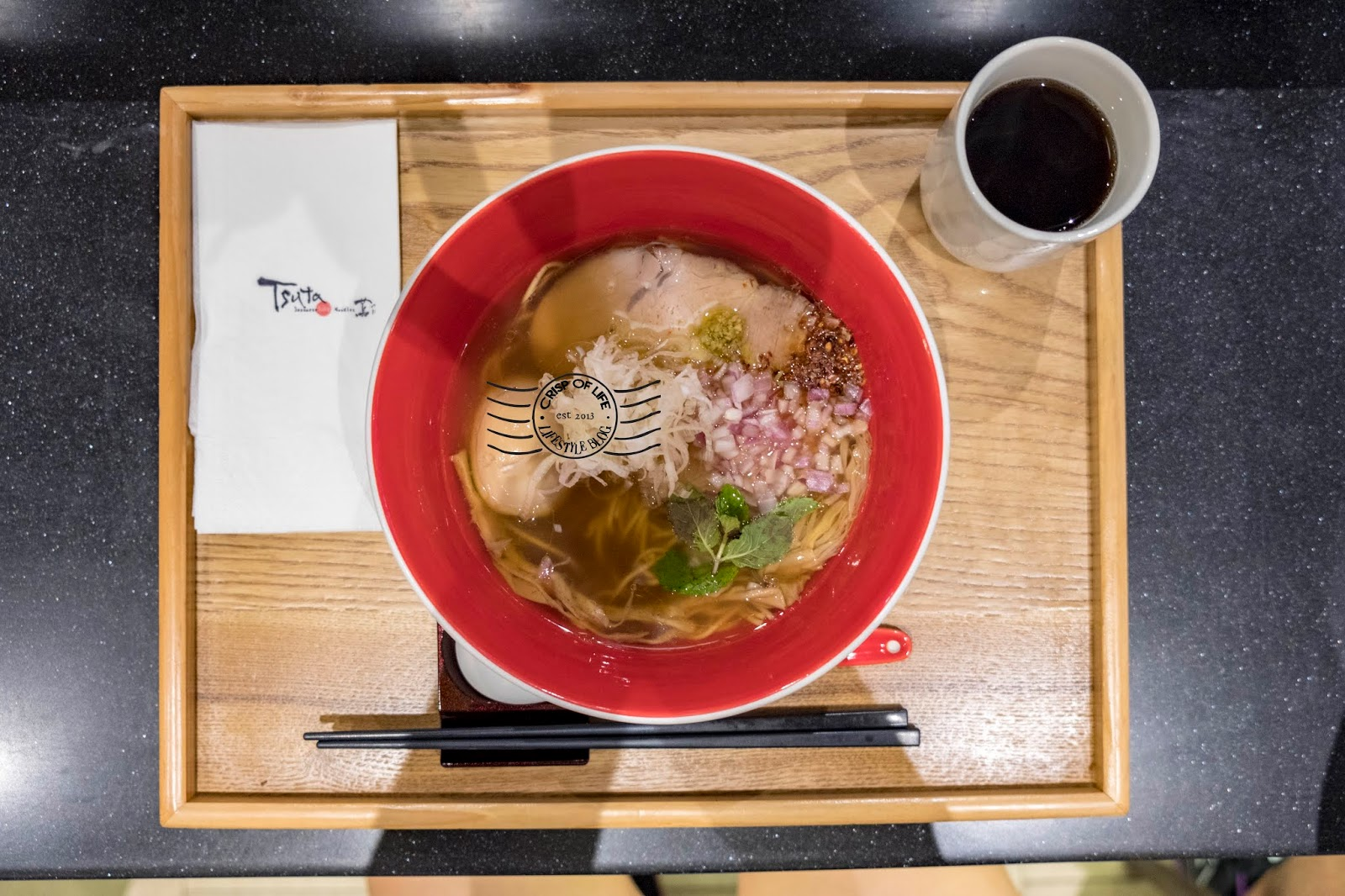 Tsuta The World's First Michelin-starred Ramen with Truffle Oil @ Singapore