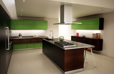Kitchen Island Hood