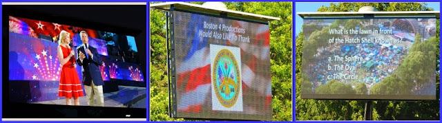 Celebración del 4 de Julio: Pantalla