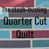 free quilt pattern-quilt tutorial-easy quilt pattern-stash busting pattern