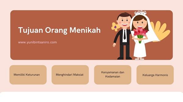 Tujuan Menikah